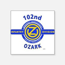 102nd Infantry Division Ozark Sticker