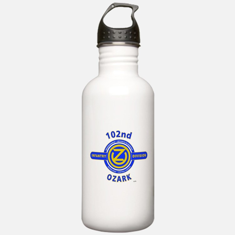 102nd Infantry Division Ozark Water Bottle