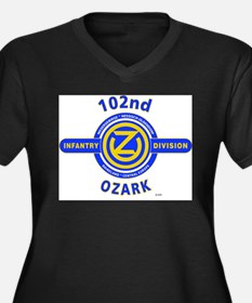 102nd Infantry Division Ozark Plus Size T-Shirt