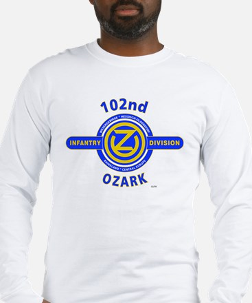 102nd Infantry Division Ozark Long Sleeve T-Shirt