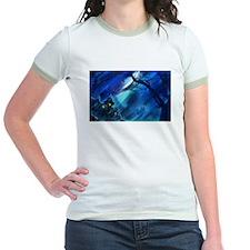 Spooky Halloween Blue T-Shirt