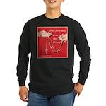 Pray Rosary Long Sleeve Dark T-Shirt