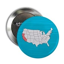 "'California' 2.25"" Button"