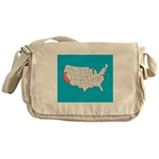 'California' Messenger Bag
