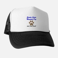 Greater Swiss Mountain Dog Mans Best Friend Hat