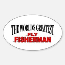 """The World's Greatest Fly Fisherman"" Decal"