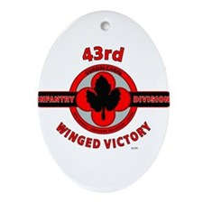 43rd Infantry Division Winged Victory Ornament (Ov