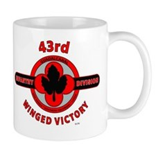 43rd Infantry Division Winged Victory Mug