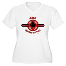 43rd Infantry Division Winged Victory Plus Size T-