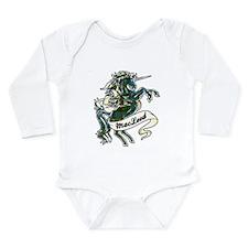 MacLeod Unicorn Long Sleeve Infant Bodysuit