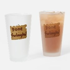 Gone Furloughin' Drinking Glass