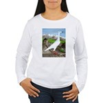 Polish Srebrniak Pigeon Women's Long Sleeve T-Shir
