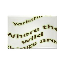 Yorkshire - where the wild things are Rectangle Ma