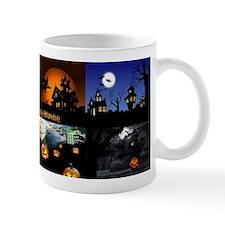 Halloween Scenes Mug