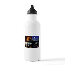 Halloween Scenes Water Bottle