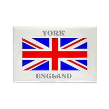 York England Rectangle Magnet (10 pack)
