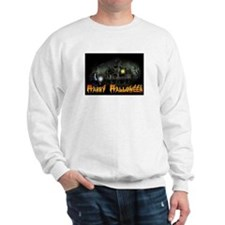 Happy Halloween Haunted House Sweatshirt