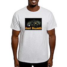 Happy Halloween Haunted House T-Shirt