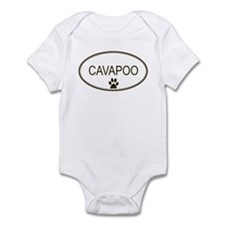 Oval Cavapoo Infant Bodysuit
