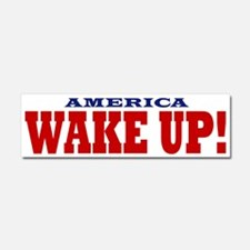 Wake Up Car Magnet 10 x 3