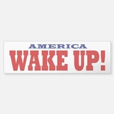Wake Up Sticker (Bumper)