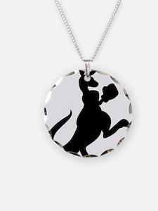 Boxing Kangaroo Necklace