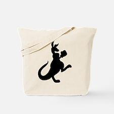 Boxing Kangaroo Tote Bag