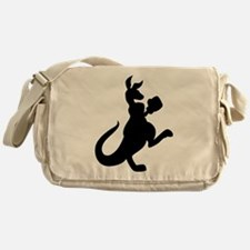 Boxing Kangaroo Messenger Bag