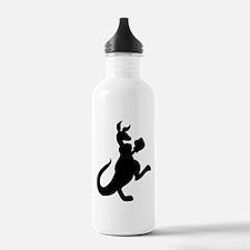 Boxing Kangaroo Water Bottle