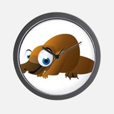 Cartoon Platypus Wall Clock