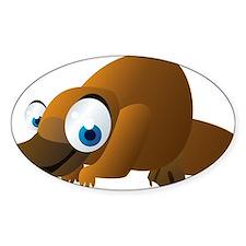 Cartoon Platypus Decal