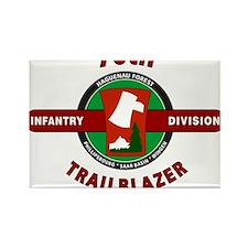 70th Infantry Division TrailBlazer Rectangle Magne