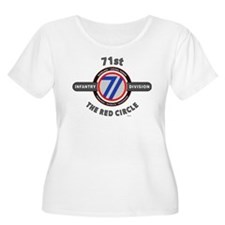 71st Infantry Division The Red Circle Plus Size T-