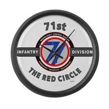 71st Infantry Division The Red Circle Large Wall C