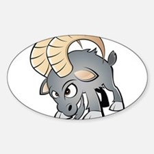 Cartoon Ram Decal