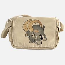 Cartoon Ram Messenger Bag
