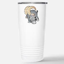 Cartoon Ram Travel Mug