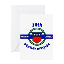 76th Infantry Division Onaway Greeting Card