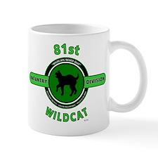 81st Infantry Division Wildcat Mug