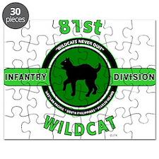 81st Infantry Division Wildcat Puzzle