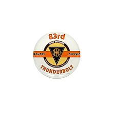 83rd Infantry Division Thunderbolt Mini Button