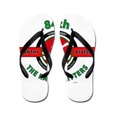 84th Infantry Division The Railsplitters Flip Flop