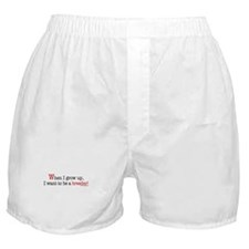 ... a stripper Boxer Shorts