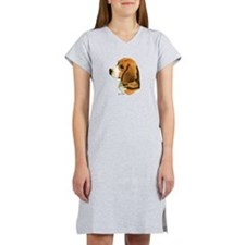 Cute Beagle Women's Nightshirt