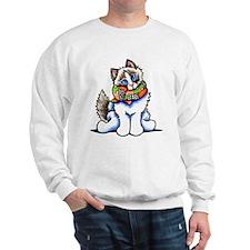 Ragdoll Scarf Sweatshirt