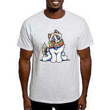 Ragdoll Scarf T-Shirt