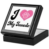 I love my tuxedo Keepsake Boxes