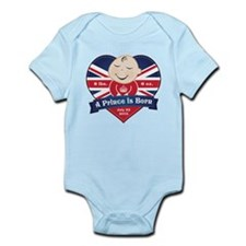 Heart Prince Born Body Suit