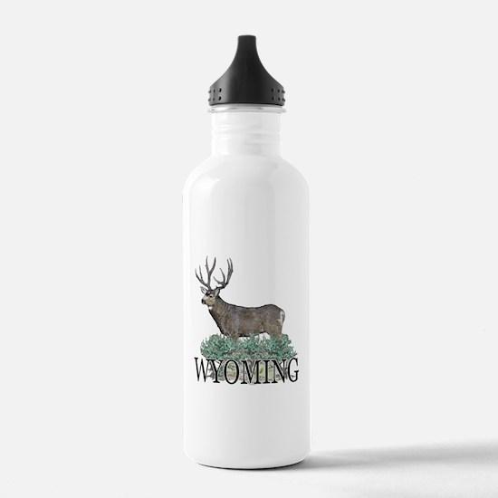 Wyoming buck Water Bottle
