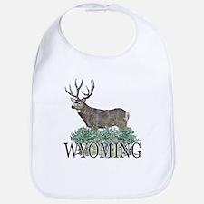 Wyoming buck Bib